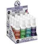 Aromar hand sanitizer display